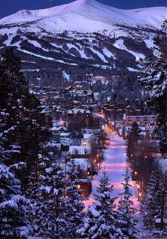 Breckenridge | Colorado | mountains | winter | Christmas | snow