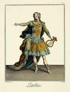 EKDuncan - My Fanciful Muse: Drama Queens - Opera Costumes from the time of Marie Antoinette Costume Paris, Costume Français, Historical Art, Historical Costume, Historical Clothing, Historical Illustrations, Theatre Costumes, Ballet Costumes, Toy Theatre