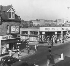 High Road Lancelot Road, Wembley, 1964