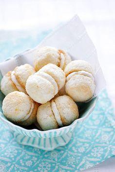 ♂ Food styling still life photography - coconut and lemon cream balls