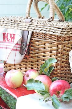 Lunch & Apple picking