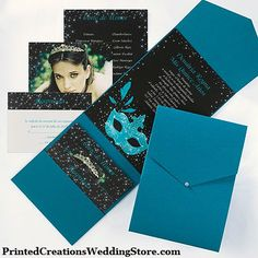 This Sparkle Invitation is perfect for inviting guests to your themed Quinceanera celebration. See this 15th Birthday invitation and many more here - http://printedcreations.carlsoncraft.com/Parties/Pockets/3174-JKN26842-Sparkle--Invitation.pro. #quinceanera #quincenera #quinceanos