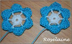 Un tuto pour des boucles d'oreilles fleurs au crochet! Tuto gratuit/Free Pattern: http://roselaine.canalblog.com/archives/2014/08/14/30348244.html
