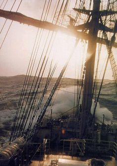 """I am not afraid of storms for I am learning how to sail my ship..."" (Alcott)"