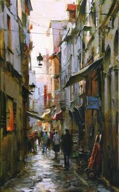 "Dmitri Danish ""Market Street""  ดิมิทรีเดนมาร์ก ""ถนนตลาด"""