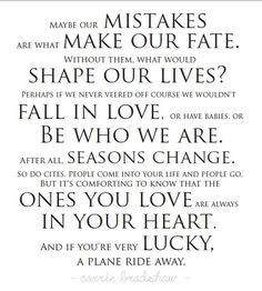 Carrie Bradshaw Quote - Love