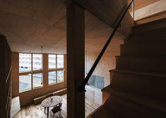 リビングダイニング(屋上テラスのある狭小住宅) - リビングダイニング事例|SUVACO(スバコ)