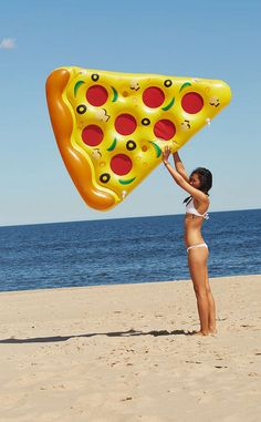 And, lastly, this epic pool float ($50) because pizza. | 17 Ways To Live Your Best Life This Summer