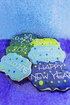Happy New Year Cookies.