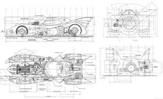 blueprint batman - Buscar con Google
