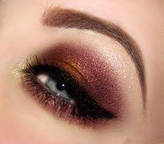 """Used """"Downtown Browns"""" Palette by Black Radiance cosmetics."""