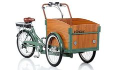 bicycle stylish european bike to work truck load electric powered pedelec pedal assist quality green commuter kids child children dog cat pet pets cargo family Dogs And Kids, Animals For Kids, Tricycle, Electric Cargo Bike, Electric Scooter, Electric Box, Velo Cargo, Wheelbarrow, Quality Time