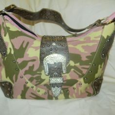 Camo Pastel Western at the Shopping Mall, $40.00 (USD)