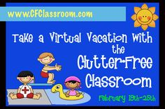 Clutter-Free Classroom: Tropical Luau Themed Classrooms
