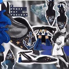 Estos pointy flats de @dolcegabbana llevan nuestro corazón por alta mar Un #ShoesdayTuesday ad hoc para el cambio de temporada  via GRAZIA MEXICO MAGAZINE OFFICIAL INSTAGRAM - Fashion Campaigns  Haute Couture  Advertising  Editorial Photography  Magazine Cover Designs  Supermodels  Runway Models