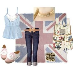 British Love, created by laurabeier on Polyvore