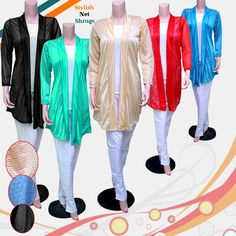 Become a showstopper wherever you choose to go, whether for a party or any occasion. The mesmerizing apparel style clothing for women,Distinctive Colors to exhibit stunning smartness all over with any dress combination.Featuring an open front and attractive detailing for a feminine feel, Team it up with your best casual outfits to make a cool winter fashion statement.