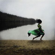 Kylli Sparre takes conceptual photographs influenced by dance and bodies in motion.