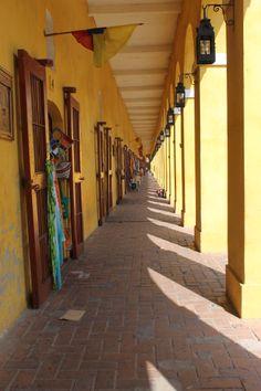 Las bóvedas. Cartagena, Colombia