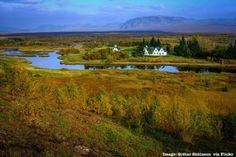 Thingvellir Church at Thingvellir National Park -- Iceland Golden Circle day…