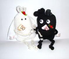 Das Brautpaar In Love ♥ bringt ganz viel Glück für die gemeinsame Zukunft zu Zweit.    Für den schönsten Tag im Leben ein ganz besonderes und ausge...