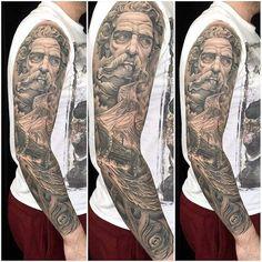Sick Neptune/Nautical Tattoo