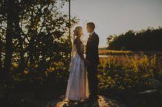 OOF Wedding Portrait