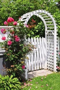 the perfect cottage entry