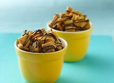 Chex® Caramel Chocolate Drizzles from Chex.com - Home of General Mills' Chex Cereals and the Original Chex Party Mix