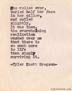 tylerknott:    Typewriter Series #67 by Tyler Knott Gregson