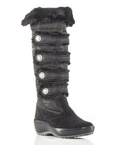 Take a look at this Black Maureen Boot by Pajar on #zulily today!