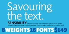 Sensibility by ShinnType. Might be a nice sans-serif choice for pairing with my beloved Livory.