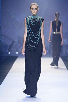 GAVIN RAJAH @ Mercedes-Benz Fashion Week 2013. Photo: SDR PHOTO/SIMON DEINER