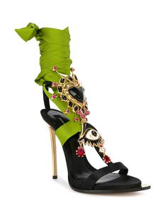 Dsquared2 Embellished Treasure Sandals - Farfetch