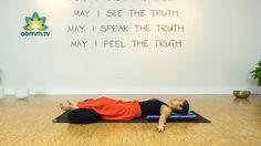 Yoga Nidra para dormir bien y descansar la mente y el cuerpo.  www.aomm.tv