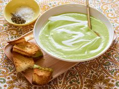 Chilled Avocado Soup Recipe : Marcela Valladolid : Food Network - FoodNetwork.com