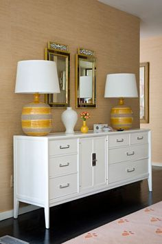 A sideboard, also called a buffet, is an item of furniture traditionally used in the dining room for serving food, for displaying serving dishes such as silver, and for storage. Check our website for more inspiration: http://www.covethouse.eu/