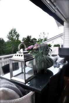 Balcón metalizado