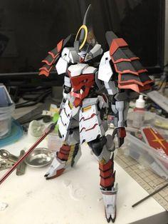 改裝作品 1/100 Gundam Barbat...