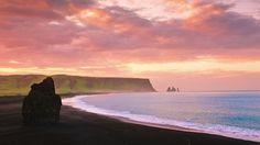 Midnight Sun | Iceland by SCIENTIFANTASTIC. *UPDATE*