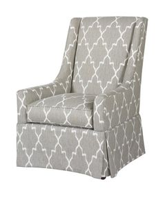 Highland House Furniture: 1065 - Conor Skirted Chair