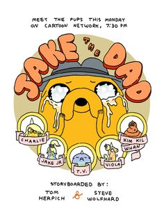 adventure time jake's babies | Adventure Time-OMG Jake's Babies! - Cartoons - Cartoons / Anime ...