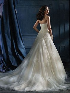 Alfred Angelo Wedding Dresses - Style 867 (back)