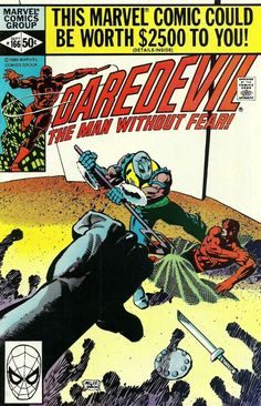 Daredevil #166 - Till death do us part! (Issue)
