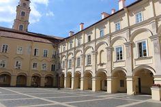 Dziedziniec Uniwersytetu Wileńskiego