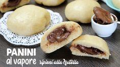 PANINI CINESI AL VAPORE SOFFICISSIMI con ripieno al cioccolato | Ricetta facile | Senza forno - YouTube