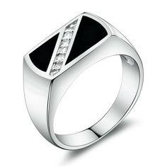 Silver Engagement Rings For Men