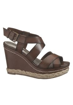 Adrian Ankle Strap Wedge - maurices.com