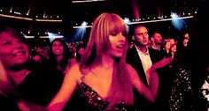 Taylor Swift at any and all award shows | Community Post: 22 People Who Are Living The Dream