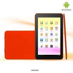 "4-Piece Set: Google Android 4.1 OS 1.2GHz 4GB 7"" Tablet PC & Accessories - Assorted Colors"